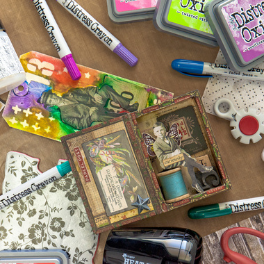 Tim Holtz Class in Your Home