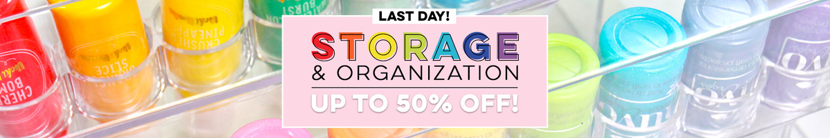 Last Day - Storage & Organization up to 50% OFF