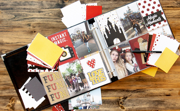 All-in-One Kit to Create a Scrapbook!