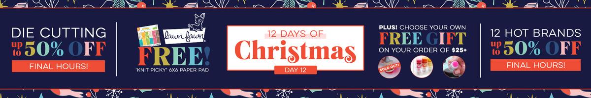 12 Days - Day 12