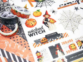 Simple Vintage Halloween Collection