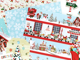 Santa's Workshop by Carta Bella