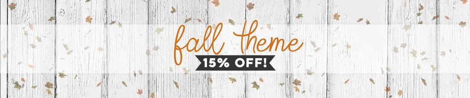 Fall Themed Items On Sale