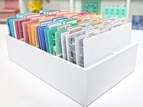 Scrapbook.com Pocket Cards Organizer & Dividers
