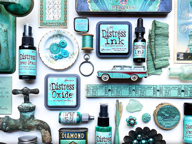 NEW from Tim Holtz: Salvaged Patina