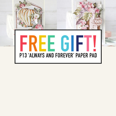 FREE P13 'Always and Forever' Paper Pad