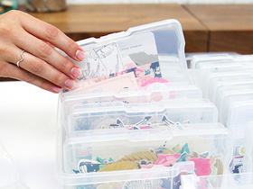 Back In Stock! Clear Storage