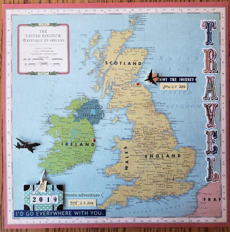 ~Ireland and Scotland~