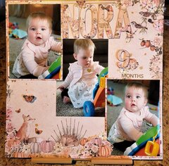 * Nora 9 Months Old *
