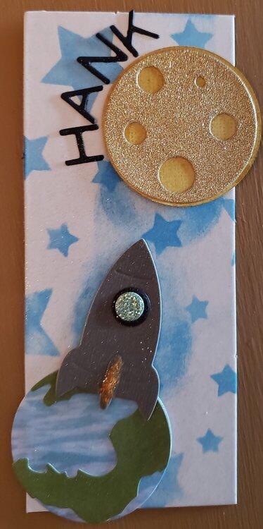 Space Book Mark