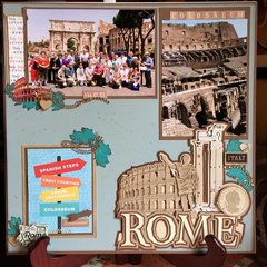 Colosseum-Rome Italy-Page 2