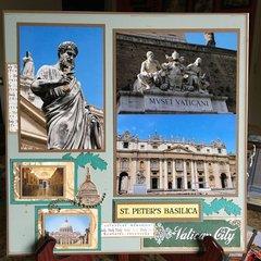 Vatican City Rome- Page 1