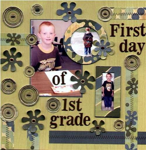 First Day of 1st Grade *Junkitz*