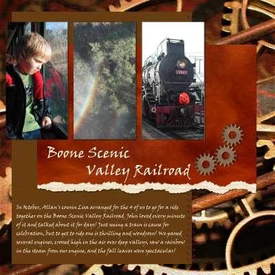 Boone Scenic Valley Railroad