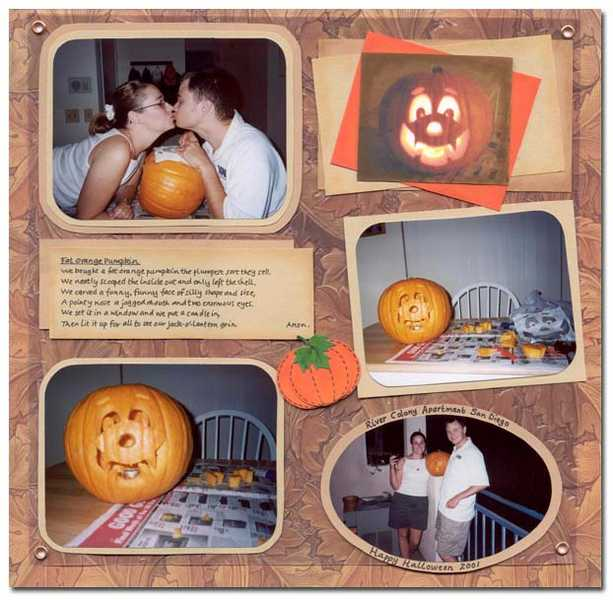 Halloween 2001 - Our First together 2