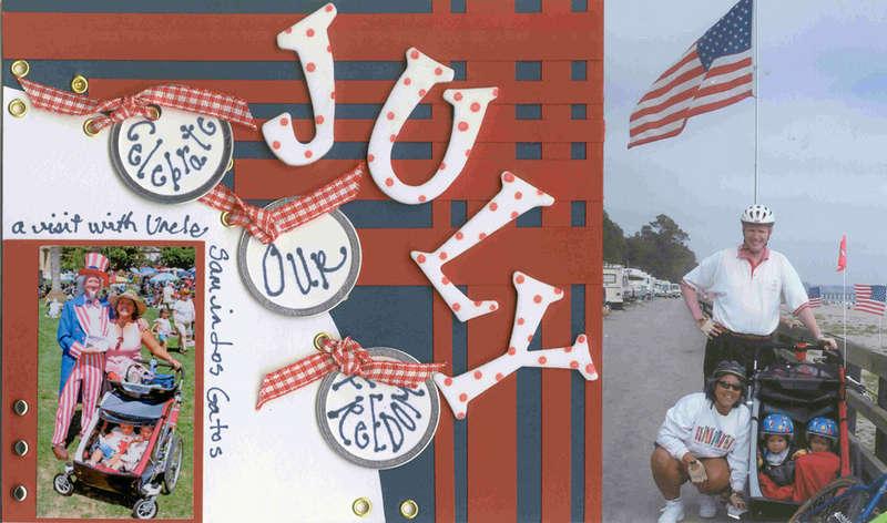 2006 Calendar - July