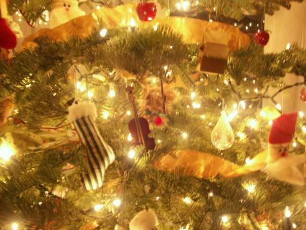 Christmas tree ambiance