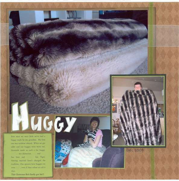 (#2 - scrap a household item) Huggy