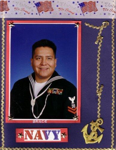 Bruce Navy Portrait