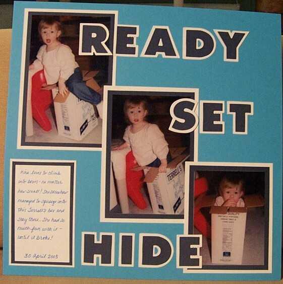 Ready Set Hide