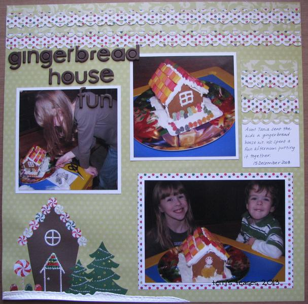 Gingerbread House Fun