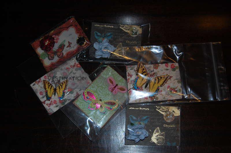 Mariposa cards