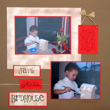 Jay's Special Birdhouse