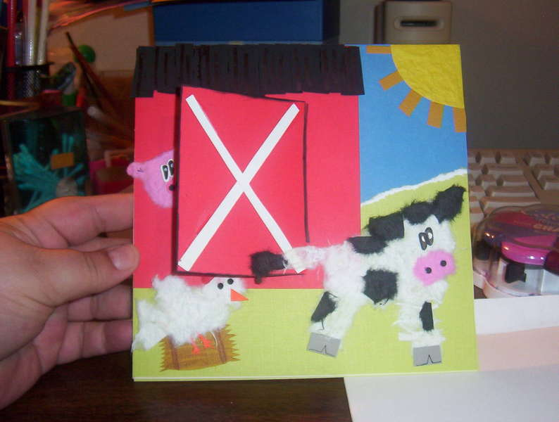 Barnyard card front