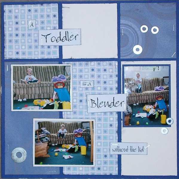 A Toddler is a Blender