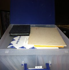 step 6b - i flipped it over so you can see the 12x12 side.