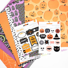 American Crafts Halloween Collection