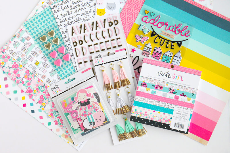 Crate Paper Cute Girl Collection