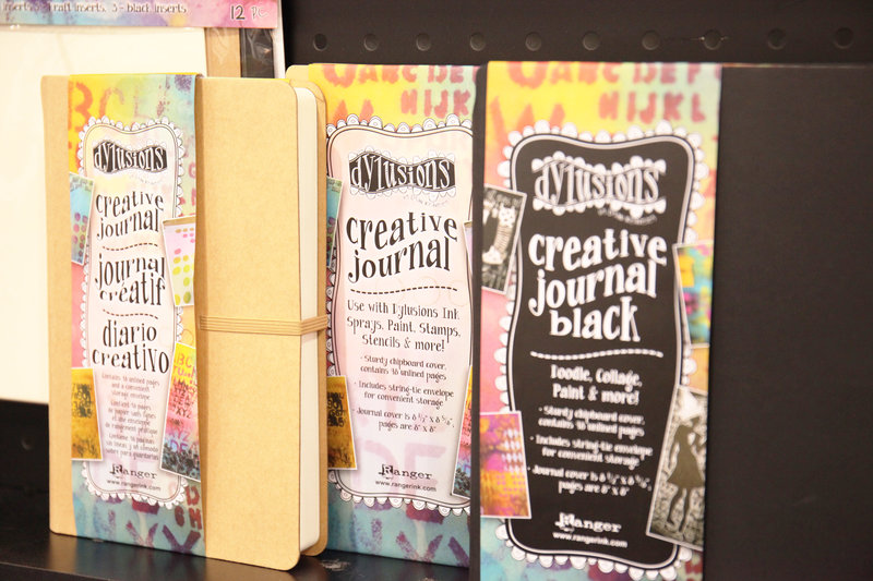 Creative Journals from Dylusions