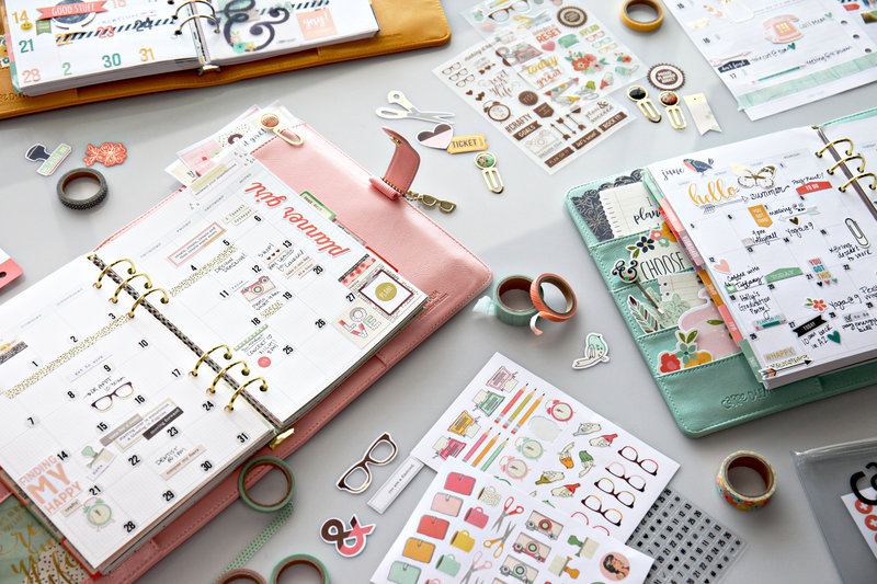A Planner's Gotta Plan...with Simple Stories!