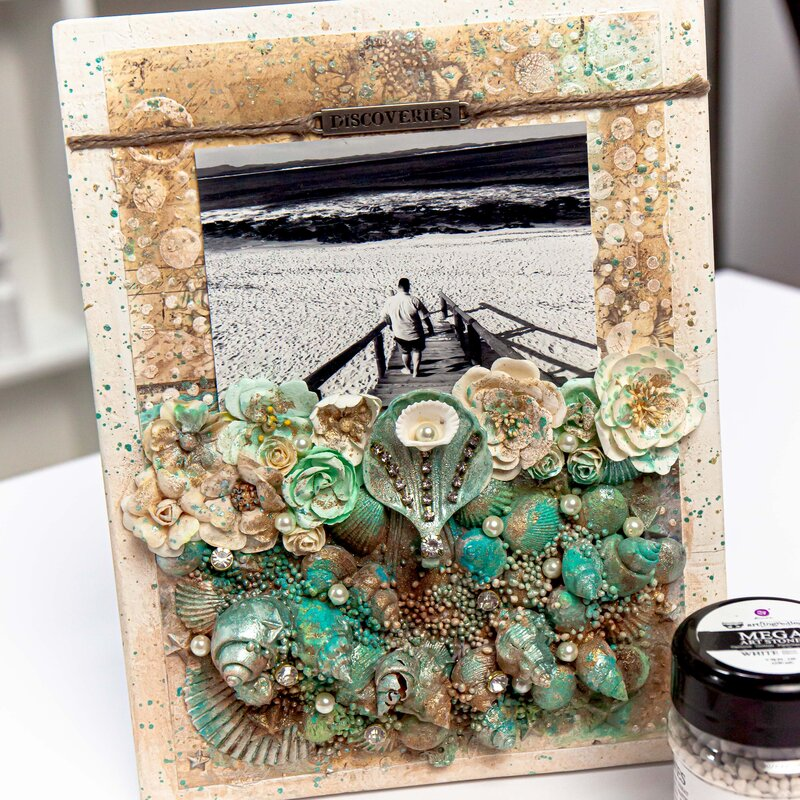 Mixed Media Frame by Frank Garcia