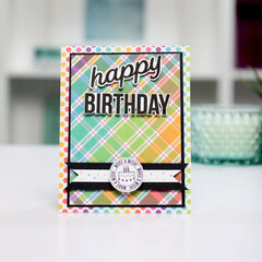 Happy Birthday! Enjoy your Cake! Card Inspiration