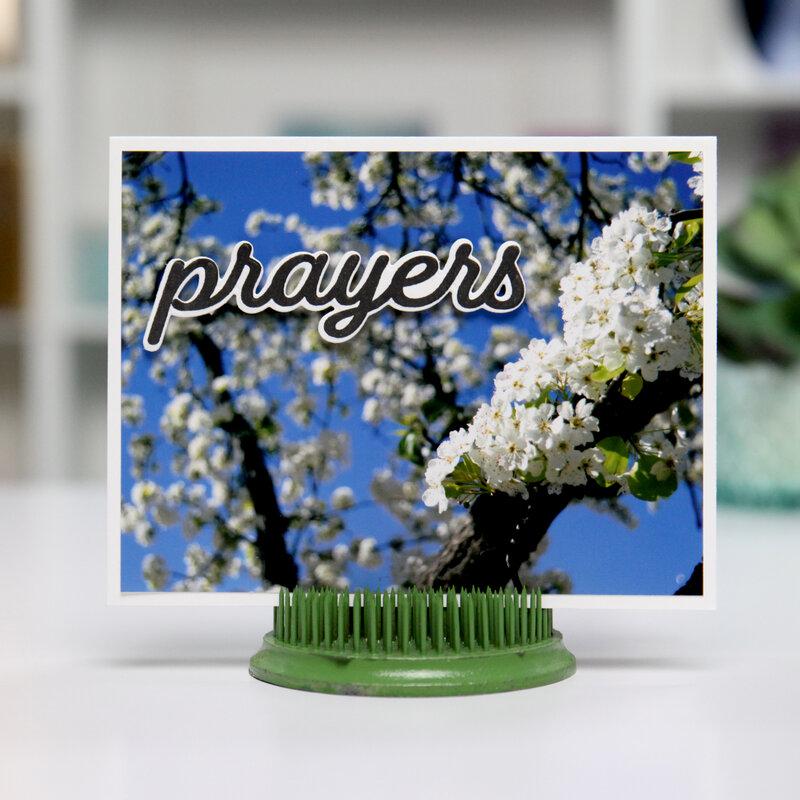 PRAYERS photo-realistic - Card Inspiration