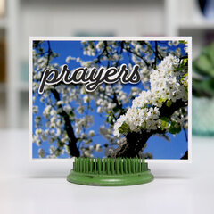 PRAYERS photo-realistic - Card Inspiration