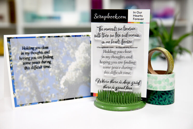 Deepest Sympathy - (Quick) Card Inspiration
