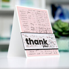 thank you - lovely - Card Inspiration