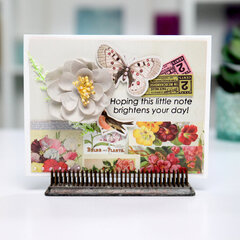 Hoping This Note - Butterfly Card Inspiration