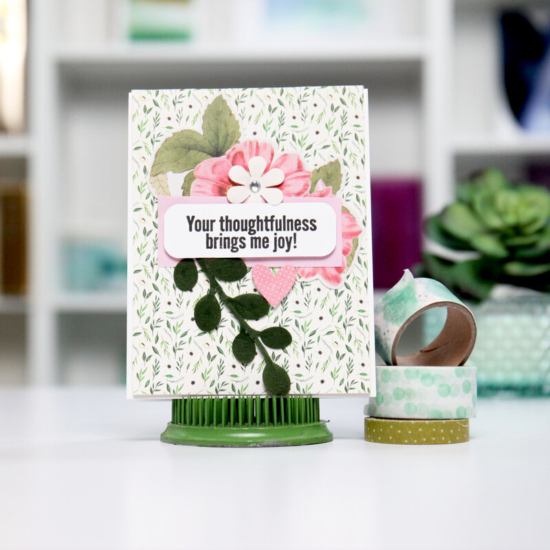 YOUR Thoughtfulness! Card Inspiration