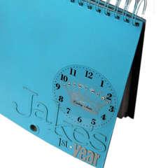 Heidi Swapp Calendar Album by Janet Hopkins, details