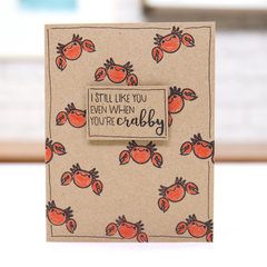 I Still Like You, Even When You're Crabby!