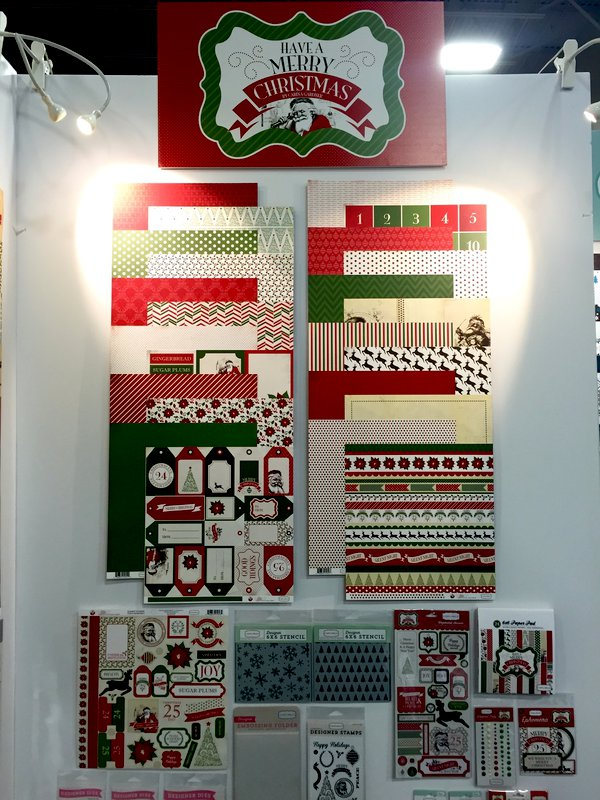 SPC Summer 2015 - Echo Park - Have A Merry Christmas Collection