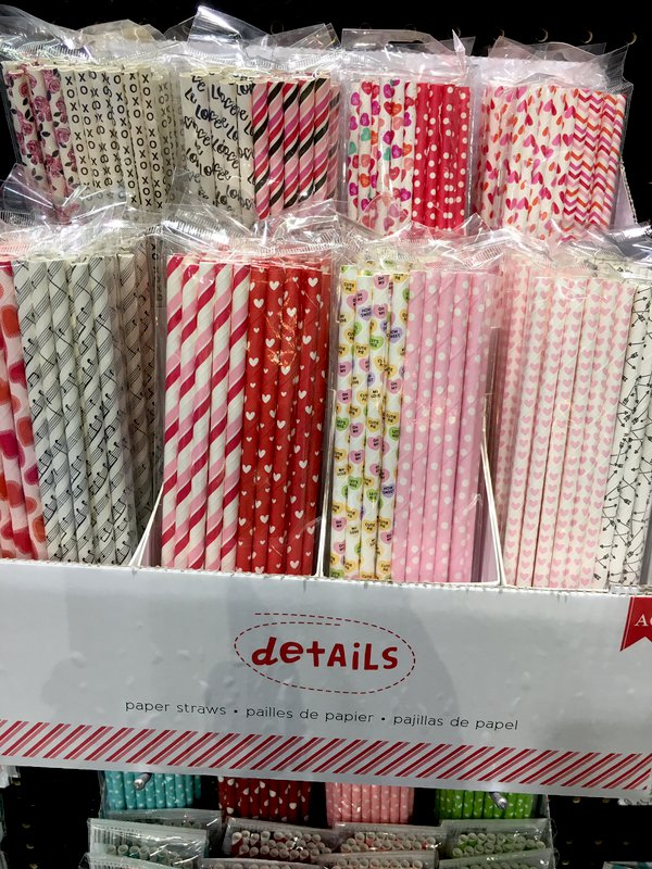 American Crafts Details Paper Straws
