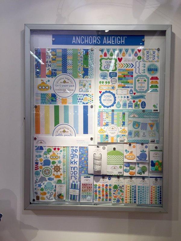 Doodlebug Anchors Aweigh Collection CHA Winter 2016
