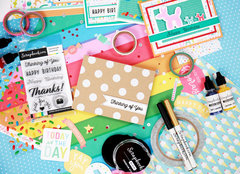 Thinking of You Card and Supplies