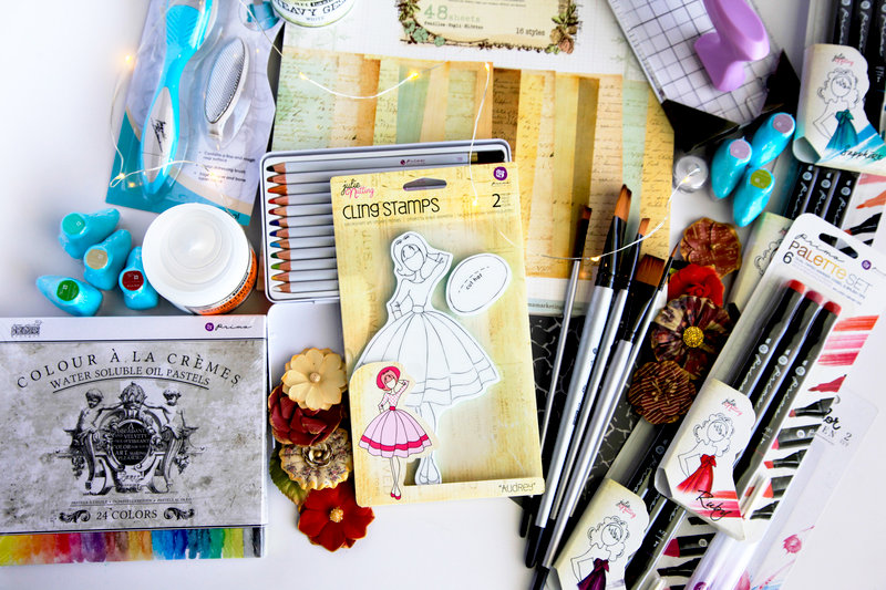 Mixed media essentials by Prima
