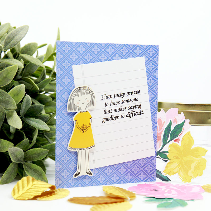 How Lucky are We - Card Example